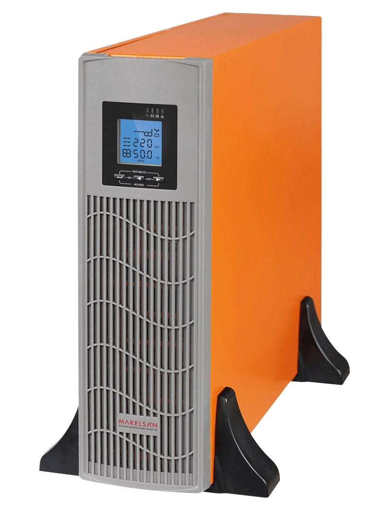 ИБП Makelsan PowerPack SE-RT 6 kVA LED + LCD